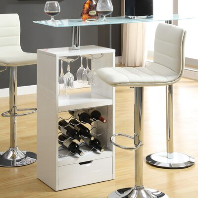 Rihanna Versatile Pub Table Finish: White