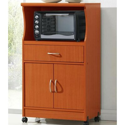 Mae Microwave Cart Finish: Cherry