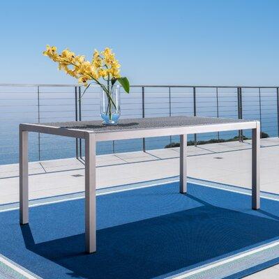 Kit Aluminum Patio Dining Table