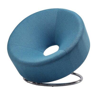 Neriah Papasan Chair Color: Blue