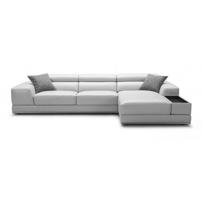 Sectional Upholstery: Light Grey