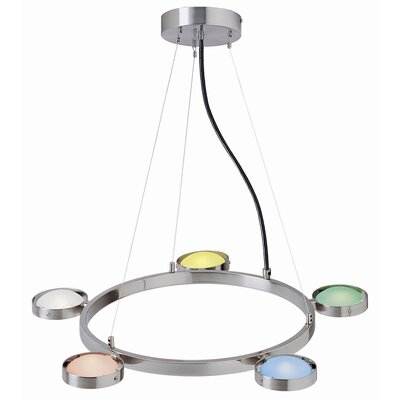 Melville 5-Light Kitchen Island Pendant