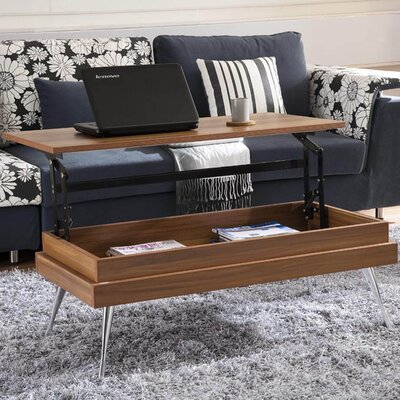 Cornelia Coffee Table with Lift Top Finish: Walnut
