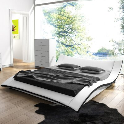 Damen Upholstered Platform Bed Size: King