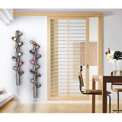 Belteau 10 Bottle Wall Mounted Wine Rack