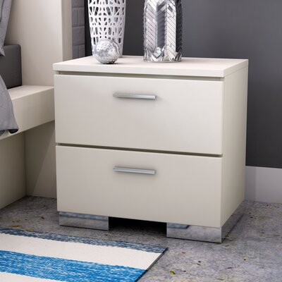 Brendan 2 Drawer Nightstand