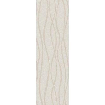 Esma Ivory Area Rug Rug Size: Runner 26 x 8