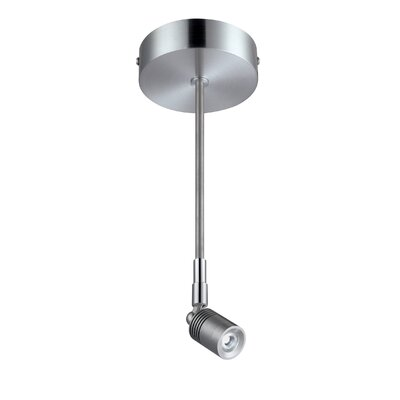 Bhushan LED 1-Light Semi Flush Mount