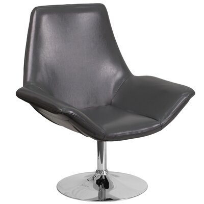 Hypnos Reception Lounge Chair Seat Color: Gray