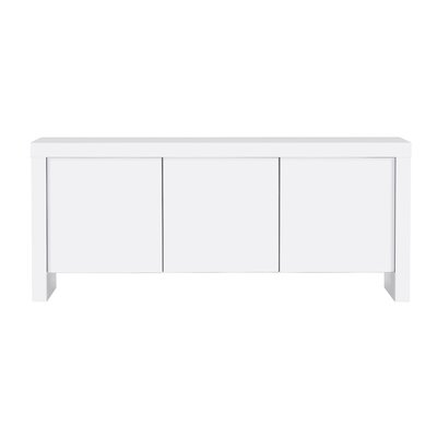 Juniper 3 Door Sideboard Color: Pure White