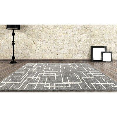 Maddox Gray Indoor/Outdoor Area Rug Rug Size: 710 x 106