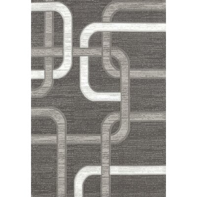 Maddox Gray Indoor/Outdoor Area Rug Rug Size: 5 x 7