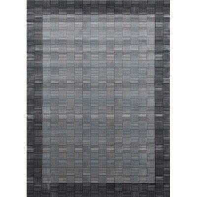 Castillo Gray Solid Indoor/Outdoor Area Rug Rug Size: 5 x 7