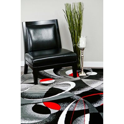 Castillo Gray Indoor/Outdoor Area Rug Rug Size: 5 x 7