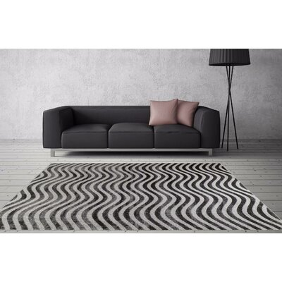 Castillo Dark Gray Indoor/Outdoor Area Rug Rug Size: 5 x 7
