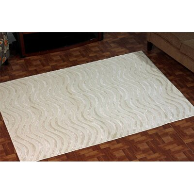 Castillo Ivory Indoor/Outdoor Area Rug Rug Size: 2 x 3