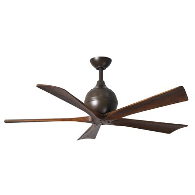 52 Rosalind 5 Blade Ceiling Fan with Wall Remote Finish: Textured Bronze