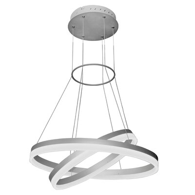 Marcelo Duo 2-Light LED Geometric Pendant
