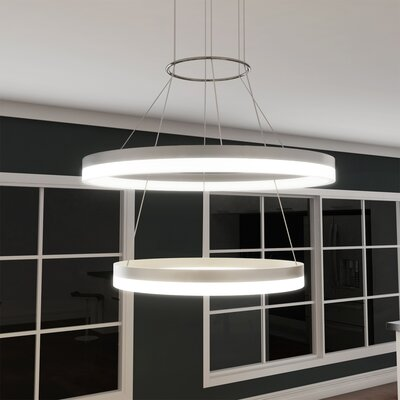 Marcelo Duo 2-Light LED Geometric Pendant WLGN8509 37990031