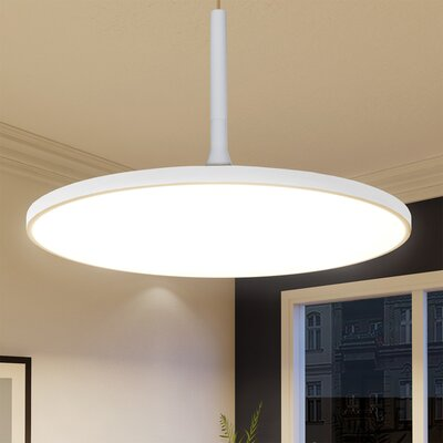 Resa LED Inverted Pendant Finish: White