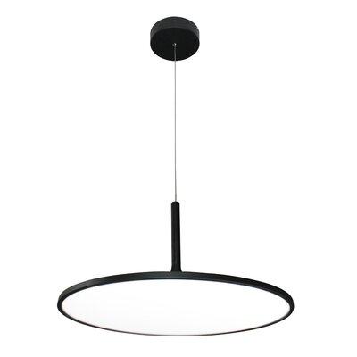 Resa LED Inverted Pendant Finish: Black
