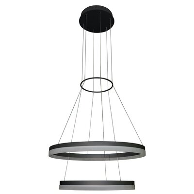 Marcelo Dup 2-Light Drum Chandelier