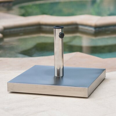 Coolidge 66 lbs Stainless Steel Free Standing Umbrella Base