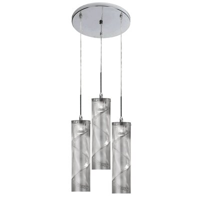 Isberga 3-Light Cascade Pendant