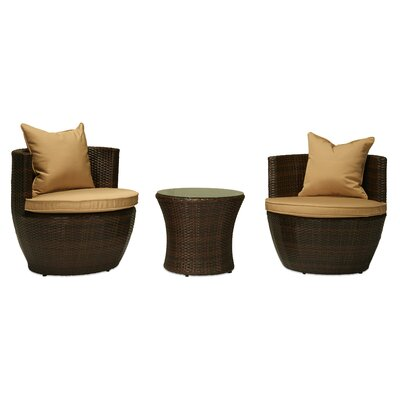 Ethan 3 Piece Deep Seating Group with Cushions