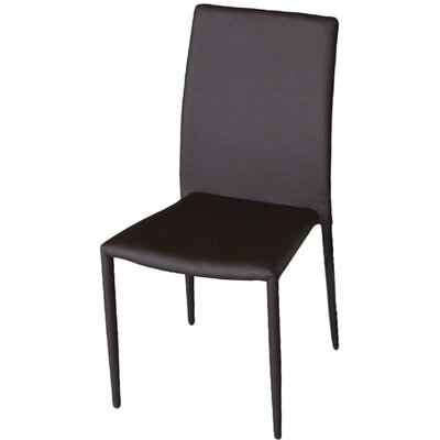 Carmine Dining Side Chair (Set of 4) Finish: Brown
