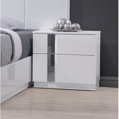 Adelaide 2 Drawer Nightstand