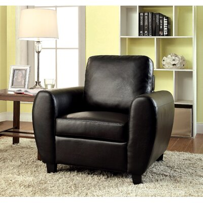 Nona Armchair Color: Black