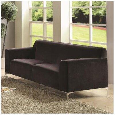 Trystan Sofa Upholstery: Black