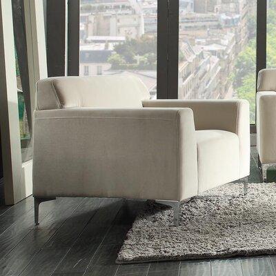 Trystan Loveseat Upholstery: Beige
