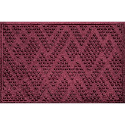 Mendez Doormat Color: Bordeaux