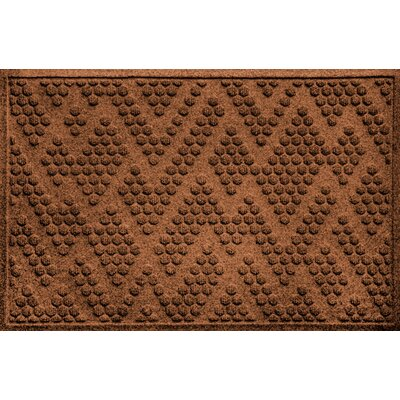 Mendez Doormat Color: Dark Brown