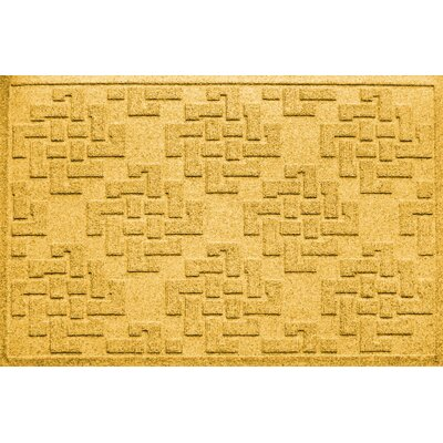 Ilana Jasper Doormat Color: Yellow