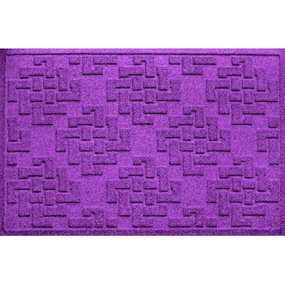 Ilana Jasper Doormat Color: Purple