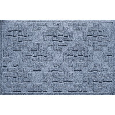 Ilana Jasper Doormat Color: Bluestone