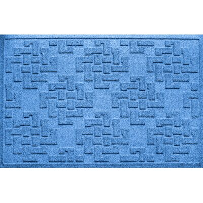 Ilana Jasper Doormat Color: Medium Blue
