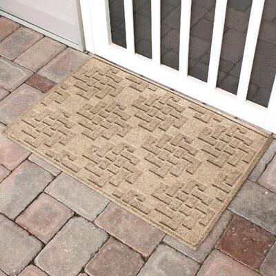 Mendez Rectangle Doormat Color: Camel