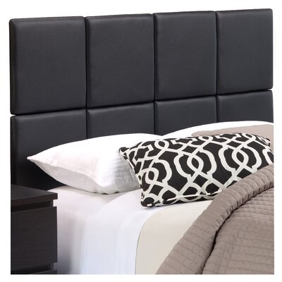 Zanna Upholstered Panel Headboard Size: Twin