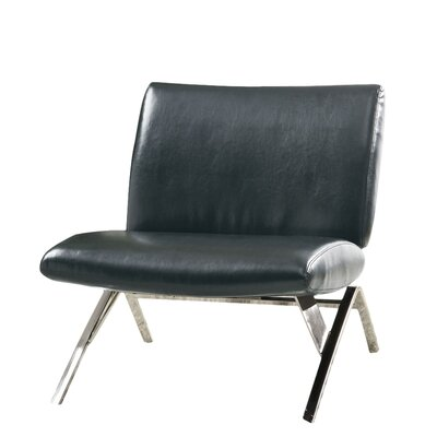 Kiley Slipper Chair Finish: Black