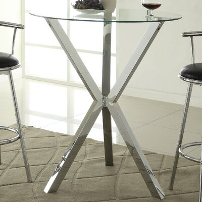 Oaklyn Pub Table in Chrome