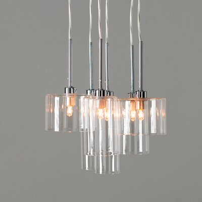 Siddharth 6-Light Cascade Pendant