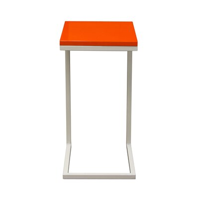 Sondra End Table Finish: Orange