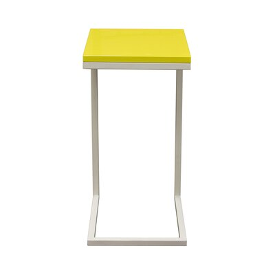 Sondra End Table Color: Yellow