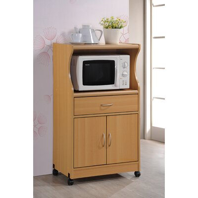 Mae Microwave Cart Finish: Beech
