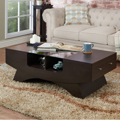 Madilynn Coffee Table Color: Walnut
