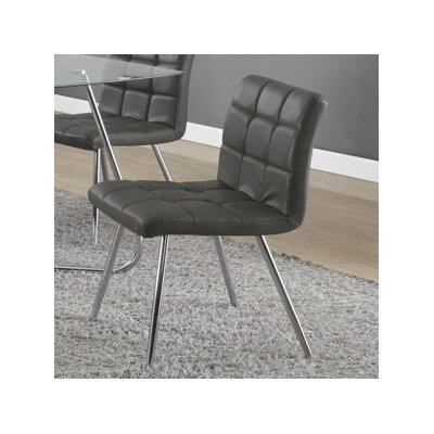 Amber Upholstered Side Chair Side Chair Upholstery: Grey